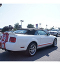 ford shelby gt500 2008 white gt 500 gasoline 8 cylinders rear wheel drive 6 speed manual 99336