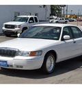 mercury grand marquis 1999 white sedan ls gasoline v8 rear wheel drive automatic 76801
