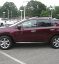 nissan murano 2009 dk  red suv sl gasoline 6 cylinders all whee drive automatic 75604