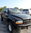 dodge dakota 2001 black sport 4x4 8 cylinders automatic with overdrive 60546