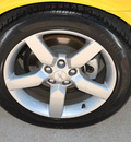 chevrolet camaro 2011 yellow coupe 2lt gasoline 6 cylinders rear wheel drive not specified 75067
