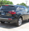 acura mdx 2012 black suv w tech gasoline 6 cylinders all whee drive automatic with overdrive 77074