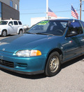 honda civic 1995 green coupe dx gasoline 4 cylinders front wheel drive automatic 80229