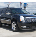 cadillac escalade 2008 black suv gasoline 8 cylinders all whee drive automatic 77090