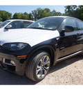 bmw x6 2013 black suv xdrive50i gasoline 8 cylinders all whee drive automatic 78729