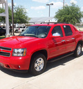 chevrolet avalanche 2011 red suv lt flex fuel 8 cylinders 4 wheel drive automatic 76049