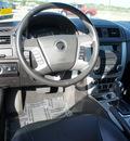 mercury milan 2011 silver sedan v6 premier flex fuel 6 cylinders front wheel drive automatic 75119