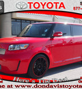scion xb 2009 red suv rs 6 0 gasoline 4 cylinders front wheel drive 5 speed manual 76011