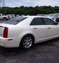 cadillac sts 2008 white sedan v6 gasoline 6 cylinders rear wheel drive shiftable automatic 77074