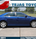 toyota camry 2007 blue sedan se gasoline 4 cylinders front wheel drive automatic 77338
