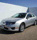 ford fusion 2012 silver sedan sel flex fuel 6 cylinders front wheel drive automatic 75235