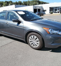 honda accord 2010 gray sedan lx gasoline 4 cylinders front wheel drive 5 speed manual 13502