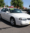 chevrolet impala 2004 white sedan ls gasoline 6 cylinders front wheel drive automatic 80229