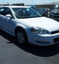chevrolet impala 2010 white sedan ls flex fuel 6 cylinders front wheel drive automatic 76234