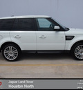 range rover range rover sport 2013 white suv hse gasoline 8 cylinders 4 wheel drive automatic 77090