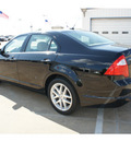ford fusion 2012 black sedan sel gasoline 4 cylinders front wheel drive automatic 77034