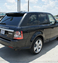 range rover range rover sport 2012 black suv hse gasoline 8 cylinders 4 wheel drive automatic 76087