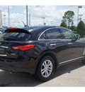 infiniti fx35 2011 black suv gasoline 6 cylinders all whee drive shiftable automatic 77074