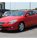 toyota camry solara 2004 red coupe se v6 gasoline 6 cylinders front wheel drive automatic 77088