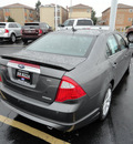ford fusion 2012 gray sedan sel flex fuel 6 cylinders front wheel drive automatic with overdrive 60546