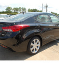 hyundai elantra 2013 black sedan limited gasoline 4 cylinders front wheel drive autostick 77065