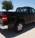 ford f 150 2008 black pickup truck xl gasoline 6 cylinders 2 wheel drive automatic with overdrive 76018