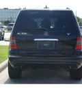 mercedes benz m class 2005 black suv ml350 gasoline 6 cylinders all whee drive shiftable automatic 77090