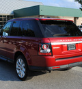range rover range rover sport 2013 red suv hse gasoline 8 cylinders 4 wheel drive automatic 27511