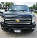 chevrolet silverado 1500 2012 black ltz flex fuel 8 cylinders 2 wheel drive automatic 77581