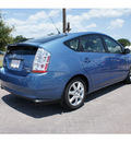 toyota prius 2008 blue metallic hatchback hybrid 4 cylinders front wheel drive automatic 78006
