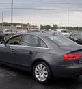audi a4 2009 dk  gray sedan 2 0t quattro gasoline 4 cylinders all whee drive automatic 46410