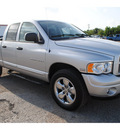 dodge ram 1500 2004 silver gasoline 8 cylinders 4 wheel drive automatic with overdrive 77590