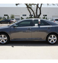 toyota camry 2012 gray sedan se gasoline 4 cylinders front wheel drive automatic 78232