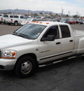 dodge ram 3500 2006 white pickup truck diesel 6 cylinders rear wheel drive automatic 79925