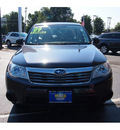 subaru forester 2009 dark gray suv 2 5 x gasoline 4 cylinders all whee drive automatic 07701