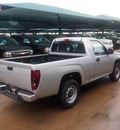 chevrolet colorado 2012 silver work truck gasoline 4 cylinders 2 wheel drive automatic 76051