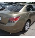 honda accord 2009 beige sedan ex l gasoline 4 cylinders front wheel drive automatic 77339
