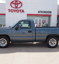 chevrolet silverado 1500 2006 blue pickup truck ls gasoline 6 cylinders rear wheel drive automatic with overdrive 77864