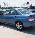 subaru impreza 2007 blue sedan 2 5 i gasoline 4 cylinders all whee drive 5 speed manual 77090