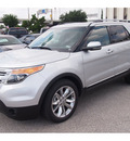 ford explorer 2013 silver suv limited flex fuel 6 cylinders 2 wheel drive automatic 77074