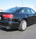 audi a6 2013 black sedan 2 0t quattro premium plus gasoline 4 cylinders all whee drive 8 speed 46410