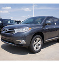 toyota highlander 2012 gray suv limited gasoline 6 cylinders front wheel drive automatic 76116
