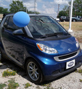 smart fortwo 2008 blue passion cabrio gasoline 3 cylinders rear wheel drive automatic 75606