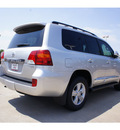 toyota land cruiser 2013 silver suv gasoline 8 cylinders 4 wheel drive automatic 76116