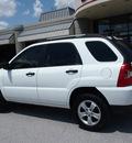 kia sportage 2009 white suv lx gasoline 4 cylinders 2 wheel drive automatic 76011