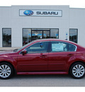 subaru legacy 2012 red sedan 3 6r limited gasoline 6 cylinders all whee drive automatic with overdrive 77802
