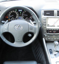 lexus is 250 2006 lt  gray sedan gasoline 6 cylinders rear wheel drive shiftable automatic 77074