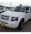 ford expedition 2010 white suv limited flex fuel 8 cylinders 2 wheel drive automatic 78572