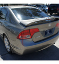 honda civic 2008 gray sedan lx gasoline 4 cylinders front wheel drive automatic 77339