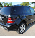 mercedes benz ml350 2008 black suv gasoline 6 cylinders 4 wheel drive automatic with overdrive 77539